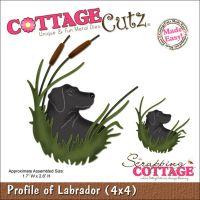 CottageCutz Profile Of Labrador Die NOTM234681