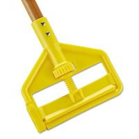 Rubbermaid Commercial Invader Side-Gate Wood Wet-Mop Handle, 1 dia x 60, Natural RCPH116