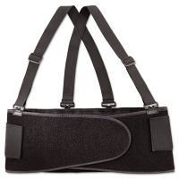 Allegro Economy Back Support Belt, X-Large, Black ALG717604