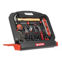 Great Neck 48-Tool Set in Blow-Molded Case, Black GNSGN48