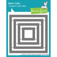 Lawn Cuts Outside In Stitched Square Stackables Custom Craft Die NOTM442985