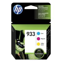 HP 933 (N9H56FN) Cyan, Magenta, Yellow Original Ink Cartridge HEWN9H56FN