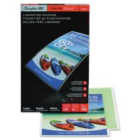 Swingline GBC EZUse Thermal Laminating Pouches, 5 mil, 9 x 14 1/2, 100/Box SWI3740473