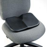 Seat Cushion, 15-1/2w x 10d x 3h, Black SAF7152BL