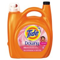 Tide Touch of Downy Liquid Laundry Detergent, April Fresh, 138 oz Bottle, 4/Carton PGC87456