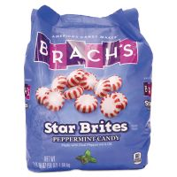 Brach's Star Brites Peppermint Candy, Individually Wrapped, 58 oz Bag BCH827132