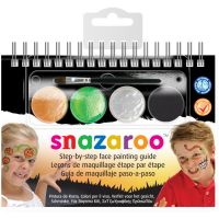 Snazaroo Step-By-Step Face Painting Kit NOTM134754