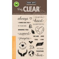"""Hero Arts Clear Stamps 4""""X6"""" NOTM388517"""