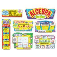 Trend Algebra Basics Bulletin Board Set TEPT8256
