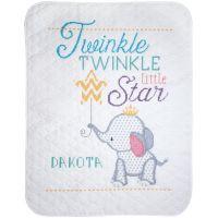Twinkle Twinkle Little Star Stamped Cross Stitch Kit NOTM052778