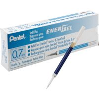 Pentel EnerGel Retractable .7mm Liquid Pen Refills PENLRN7CBX