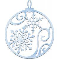 CottageCutz Elites Snowflake Ornament Die NOTM086168