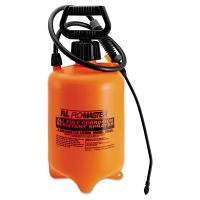 R. L. Flomaster Acid-Resistant Sprayer, Wand w/Nozzle, 2gal, Polyethylene, Orange/Black RLF1992AC