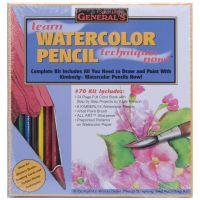 Learn Watercolor Pencil Techniques Now! Kit NOTM421241