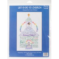 Let's Go To Church Counted Cross Stitch Kit NOTM052675