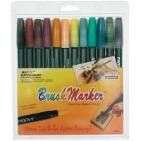 Marvy Brush Markers NOTM138496