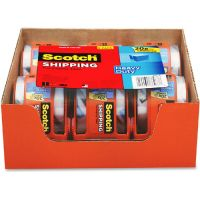 "Scotch 3850 Heavy-Duty Packaging Tape in Sure Start Disp., 1.88"" x 800"", Clear, 6/Pack MMM1426"