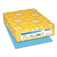Astrobrights Color Cardstock, Smooth, 65lb, 8 1/2 x 11, Lunar Blue, 250 Sheets WAU22721