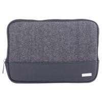 "Matt Tablet Sleeve, 7.5"" x 0.75"" x 7.5"", Polyester, Black/Gray BUGTAC1420"
