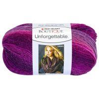 Red Heart Boutique Unforgettable Yarn - Petunia NOTM060553