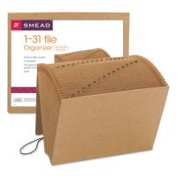 Smead 1-31 Indexed Expanding Files, 31 Pockets, Kraft, Letter, Kraft SMD70168