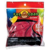"Fat Toad Latex Balloons 12"" 12/Pkg NOTM239594"
