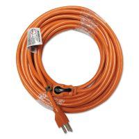 Innovera Indoor Extension Cord, Locking Plug, 50ft, Orange IVR72350
