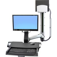 Ergotron StyleView Multi Component Mount for CPU, Flat Panel Display, Mouse, Keyboard SYNX3038570