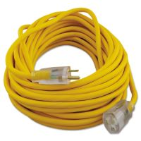 CCI Polar/Solar Outdoor Extension Cord, 50ft, Yellow COC01488