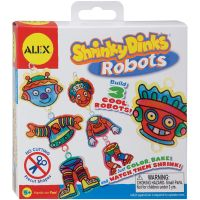 ALEX Toys Shrinky Dinks Robots Kit NOTM407428