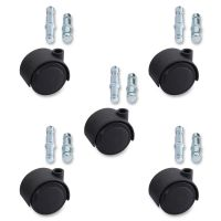 Lorell Premium Dual Soft Wheel Casters Set LLR33446