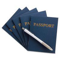 Hygloss Kids Craft Blank Passport Books HYX32610