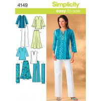 Simplicity Misses And Womens Skirt, Pant NOTM495998