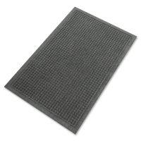 Guardian EcoGuard Indoor/Outdoor Wiper Mat, Rubber, 24 x 36, Charcoal MLLEG020304