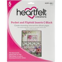 Heartfelft Creations Pocket & Flipfold Inserts NOTM528829