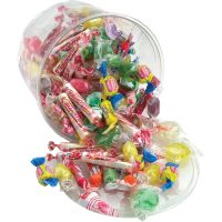 Office Snax All Tyme Favorite Assorted Candies and Gum, 2 lb Resealable Plastic Tub OFX00002