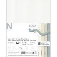 """Neenah Metallic Cardstock 8.5""""X11"""" 24/Pkg NOTM273693"""
