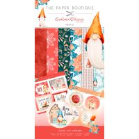 "Enchanted Christmas Paper & Topper Kit 8""X8"" 44/Pkg NOTM079582"