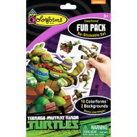 Colorforms(R) Fun Pack Re-Stickable Sticker Set NOTM232784