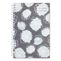 AT-A-GLANCE Academic Planners, 8 x 4 7/8, Mint Flora, 2018-2019 AAG1103200A