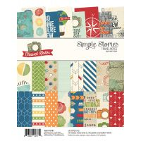 "Simple Stories Double-Sided Paper Pad 6""X8"" 24/Pkg NOTM354030"
