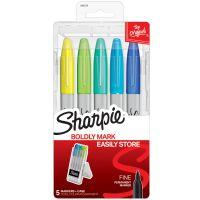 Sharpie Permanent Markers W/Hardcase 5/Pkg NOTM417638