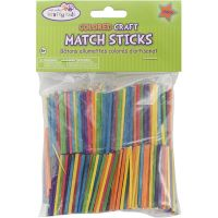 Krafty Kids Colored Craft Match Sticks NOTM131134