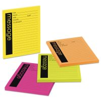 Post-it Notes Super Sticky Self-Stick Message Pad, 3 7/8 x 4 7/8, Rio de Janeiro Colors, 50-Sheet, 4/Pack MMM76794SS