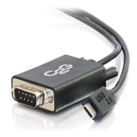 C2G USB 2.0 USB-C to DB9 Serial RS232 Adapter Cable SYNX4302041