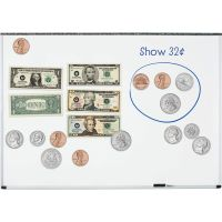 Learning Resources Double-Sided Magnetic Money Set LRN5080