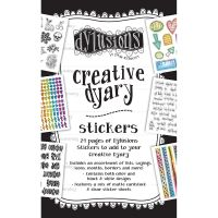 Dyan Reaveley's Dylusions Creative Dyary Sticker Book NOTM391048