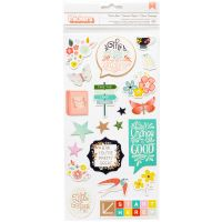 """Paige Evans Turn The Page Thickers Stickers 5.5""""X11"""" 2/Pkg NOTM098656"""