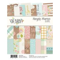 "Simple Stories Double-Sided Paper Pad 6""X8"" 24/Pkg NOTM354062"