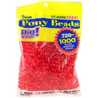 Darice Pony Beads Big Value Pack NOTM154669